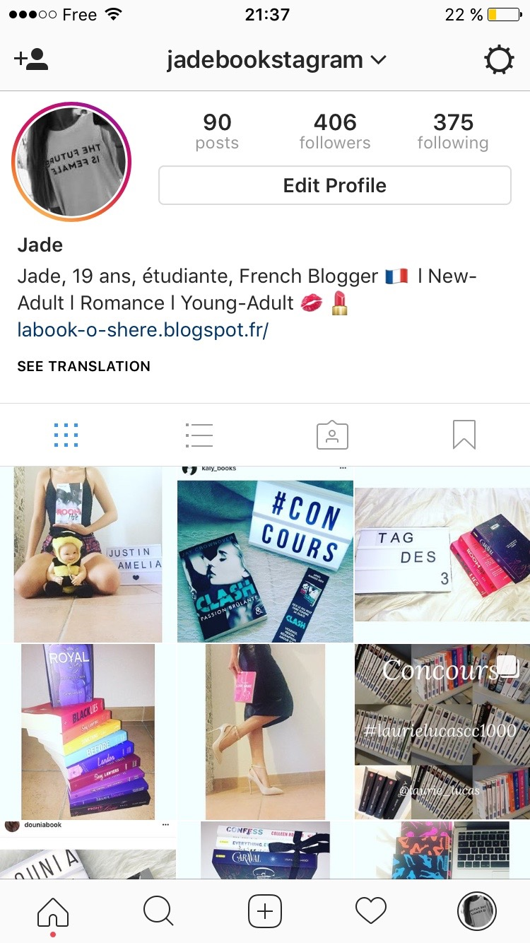 Mon compte Instagram :