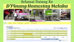 Tempahan Design Blog D'Pinang Homestay Melaka
