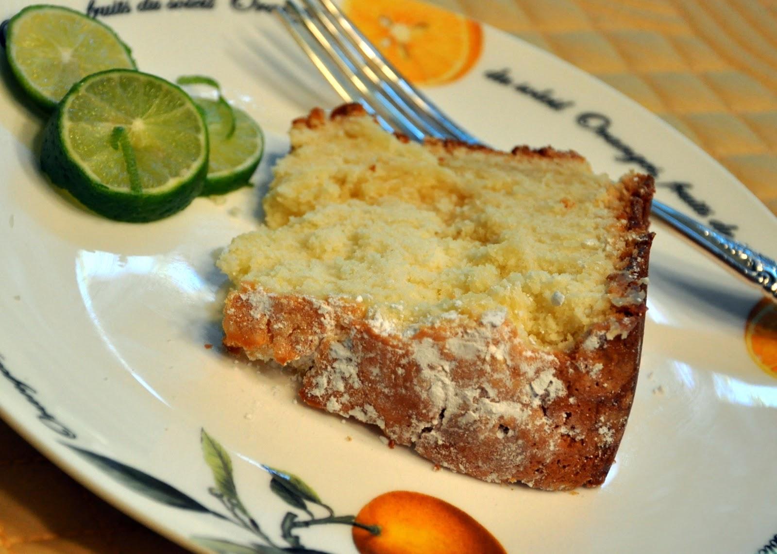 The Dishy Decorator: Key Lime Pound Cake