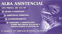 ALBA ASISTENCIAL ,AYUDA A DEPENDIENTES 607254761