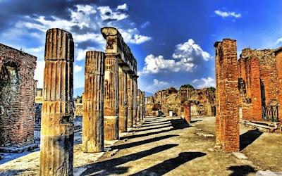 pompeya3 - Los templos de Pompeya estaban alineados con las estrellas