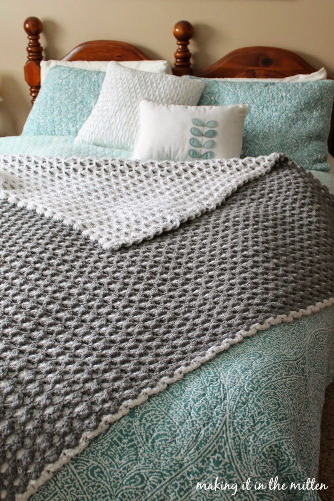 Making It In The Mitten: Crocheted Double-Sided Shell ...