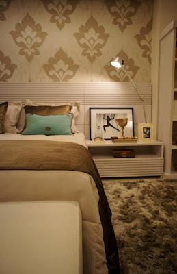 quarto de casal pequeno