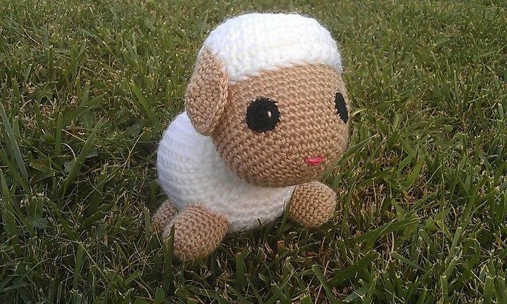 La casa de los amigurumis: Perro y oveja amigurumi