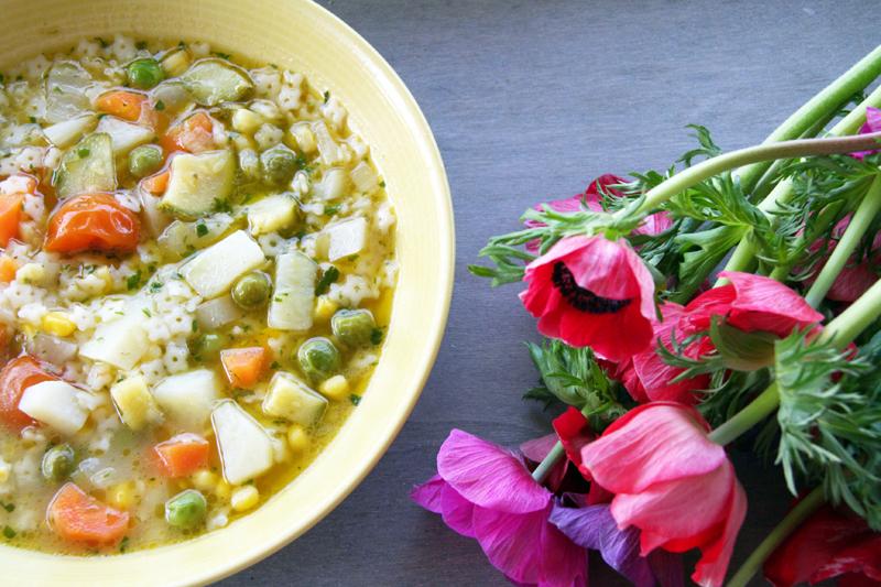 wabi: Spring minestrone soup - Ανοιξιάτικη σούπα ...
