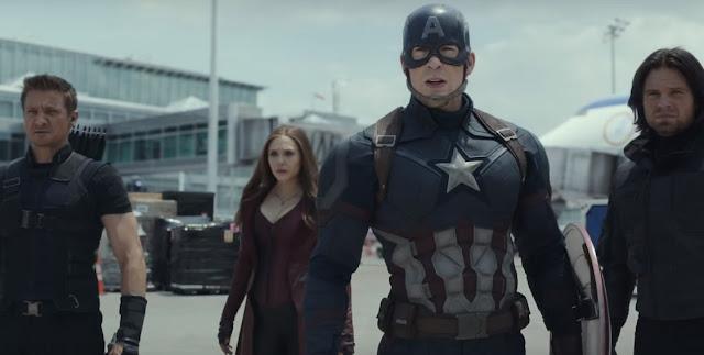 Primeiro trailer de Capitão América: Guerra Civil é explosivo