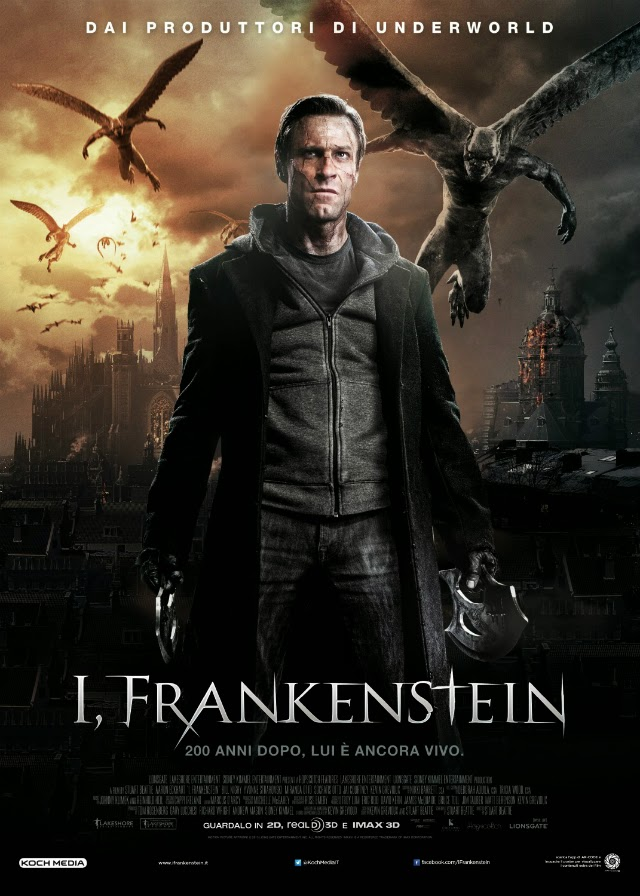 La película I, Frankenstein ( Yo, Frankenstein )