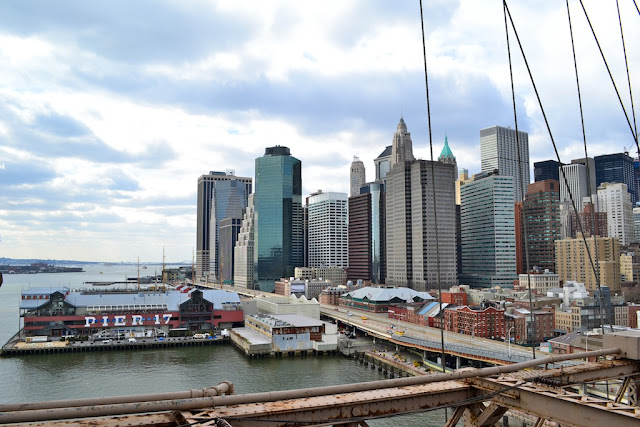 BROOKLYNG BRIDGE - VISTA DO PIER 17