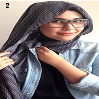 Cara Memakai Jilbab Kreasi Jilbab Paris Casual Terbaru