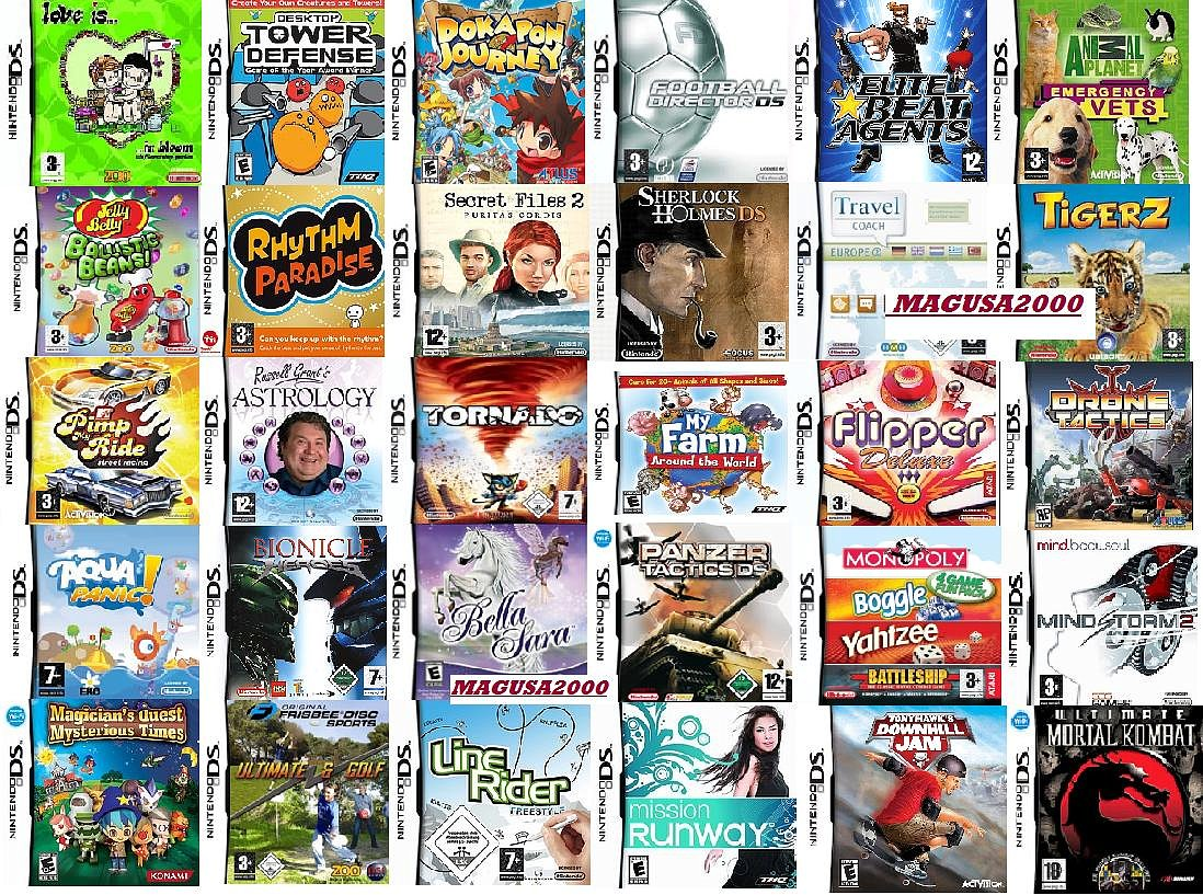 10 mejores juegos para nintendo ds: