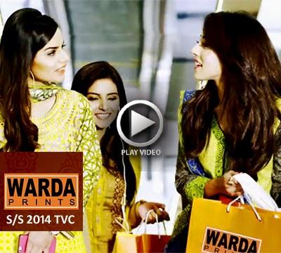 Warda Prints Lawn 2014 TVC