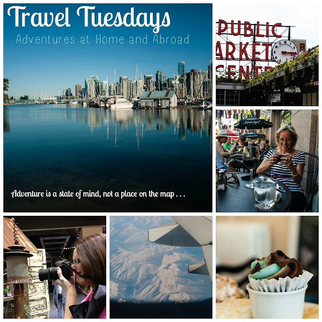 Travel Tuesdays collage