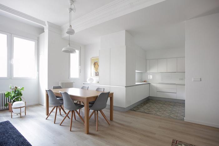 Una pizca de hogar reforma de un piso centenario for Ideas para decorar un piso antiguo
