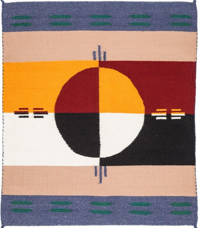 Adopt A Native Elder Blog Weaving Ceremonial Blankets Rug Show