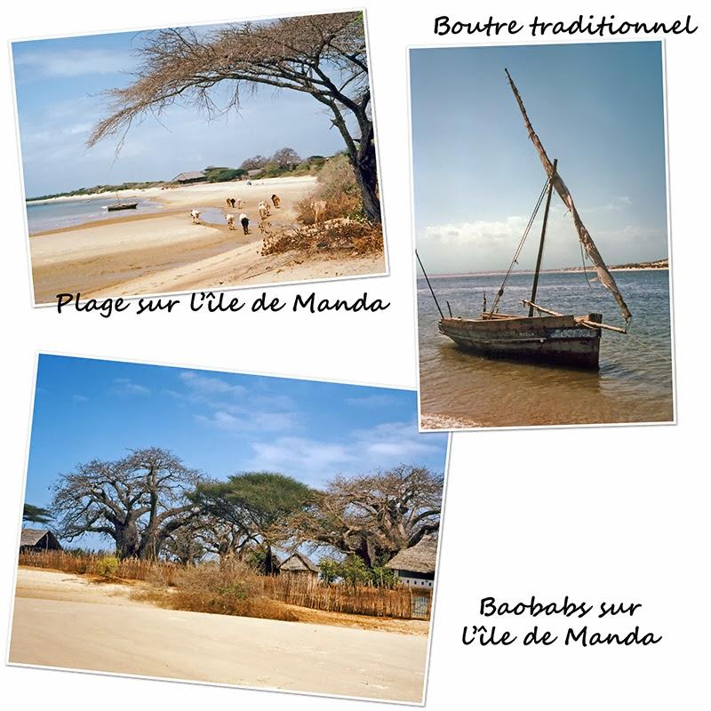 Île de Manda (archipel de Lamu) au Kenya