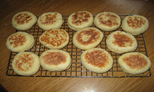 cute English muffins