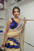 Sanjjana Latest Glam pics in saree-thumbnail-3