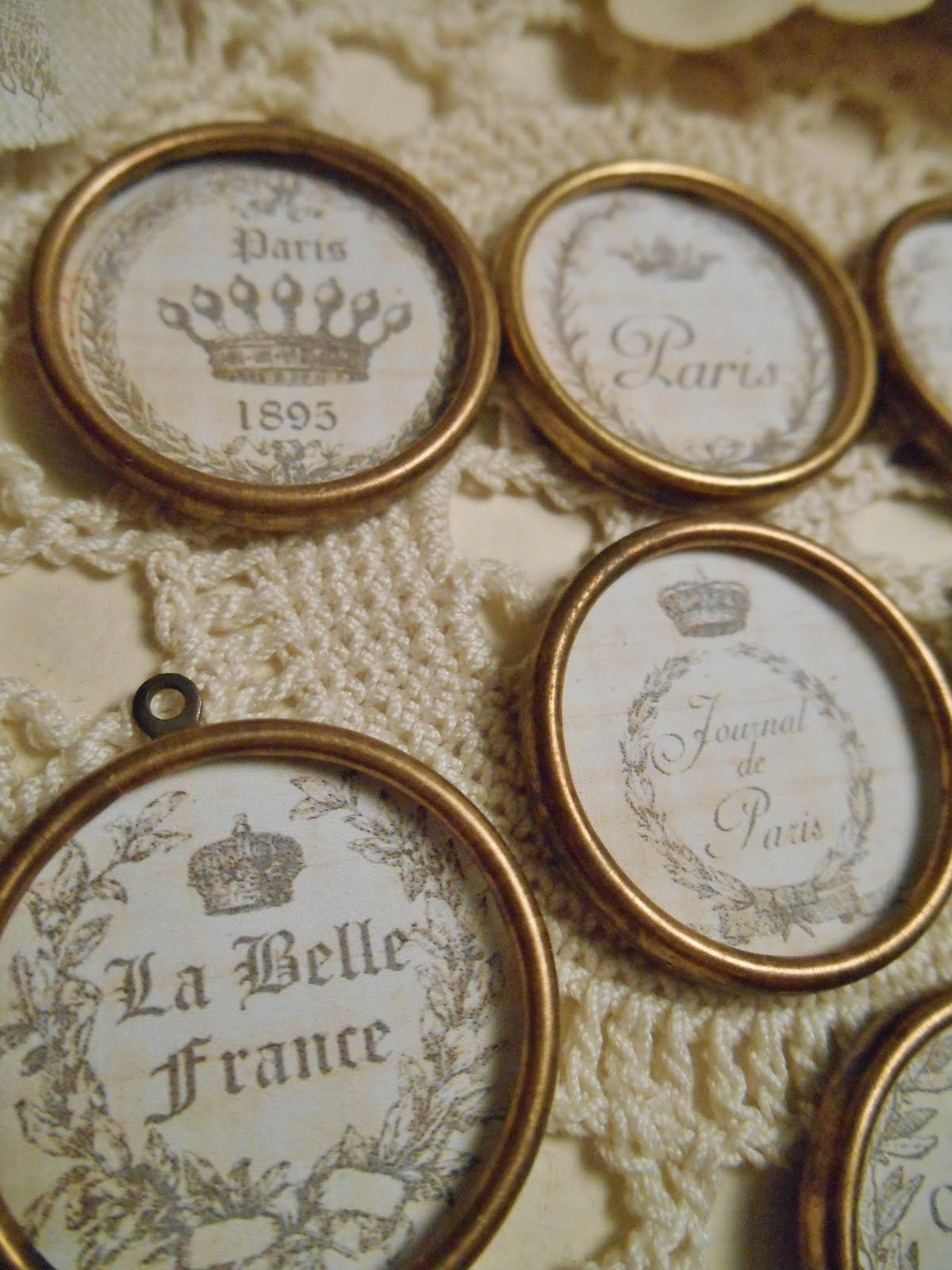 French Themed Bezels