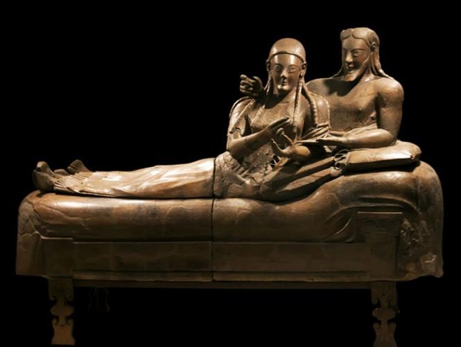 Sarcophagus with reclining couple & Sarcophagus with reclining couple | AP Art History 2015-2016 islam-shia.org