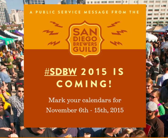 Sandiegoville the san diego brewers guild presents 7th for Craft beer guild san diego