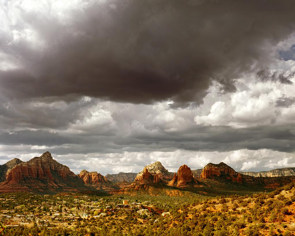 Red Rocks Of Sedona Arizona United States Natural