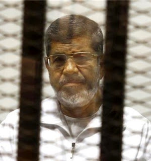 Former Egyptian president M. Morsi