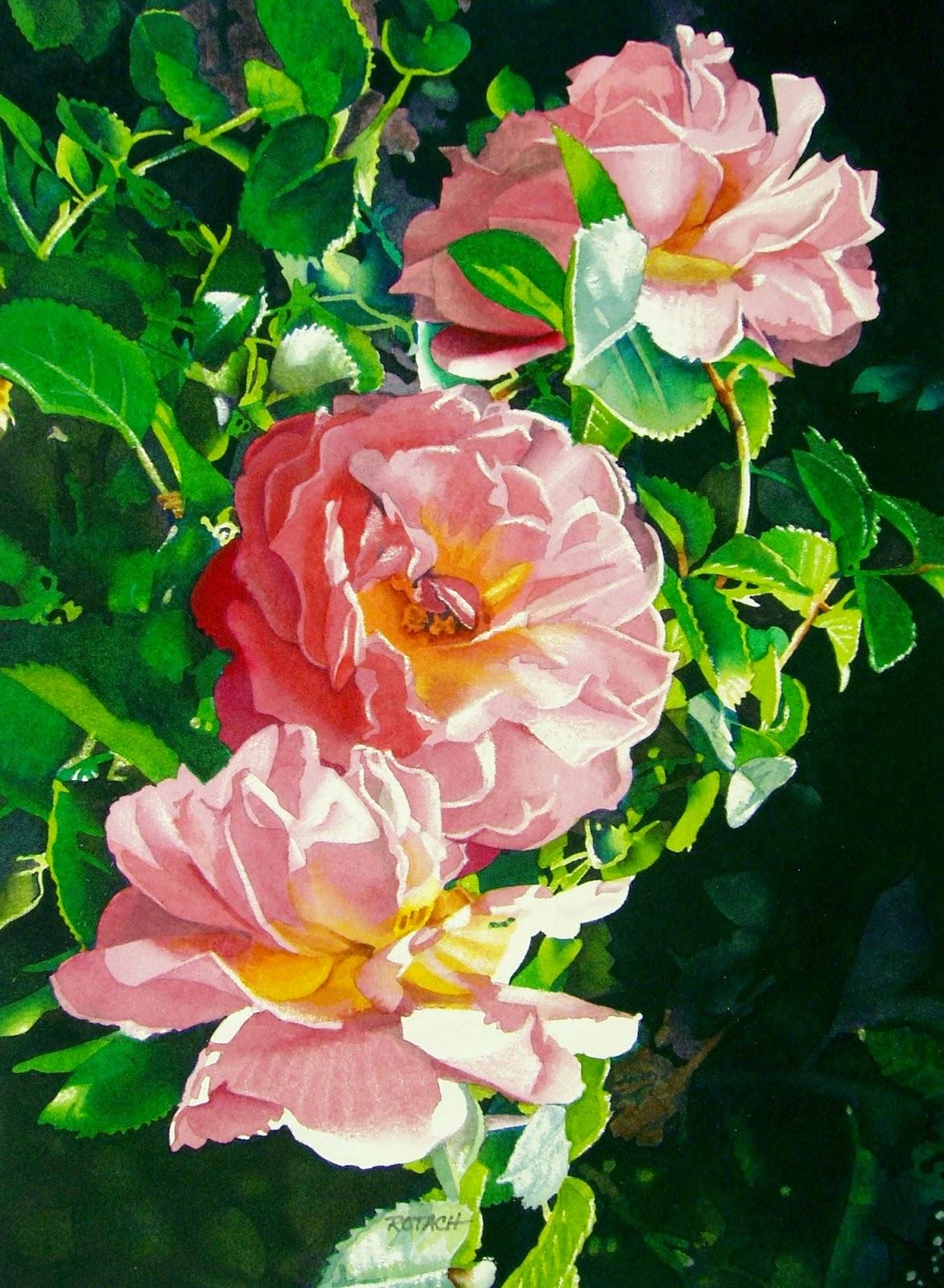 pintura-de-flores-naturales-en-acuarela