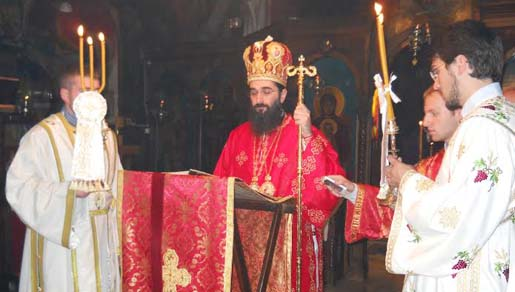 Крстовдан у вождовачком храму, 2014. лета господњег