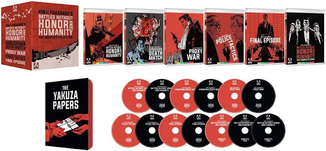 Battles Without Honor and Humanity Blu-ray set