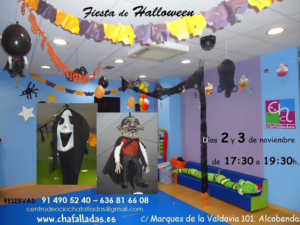 Parque infantil chafalladas fiesta infantil de halloween - Fiesta halloween infantil ...