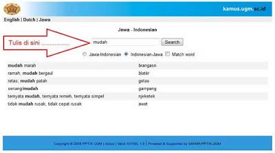 Kamus Terjemahan Indonesia google translate bahasa jawa ke aksara jawa