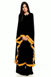 Casual Abaya Designs 2014-2015