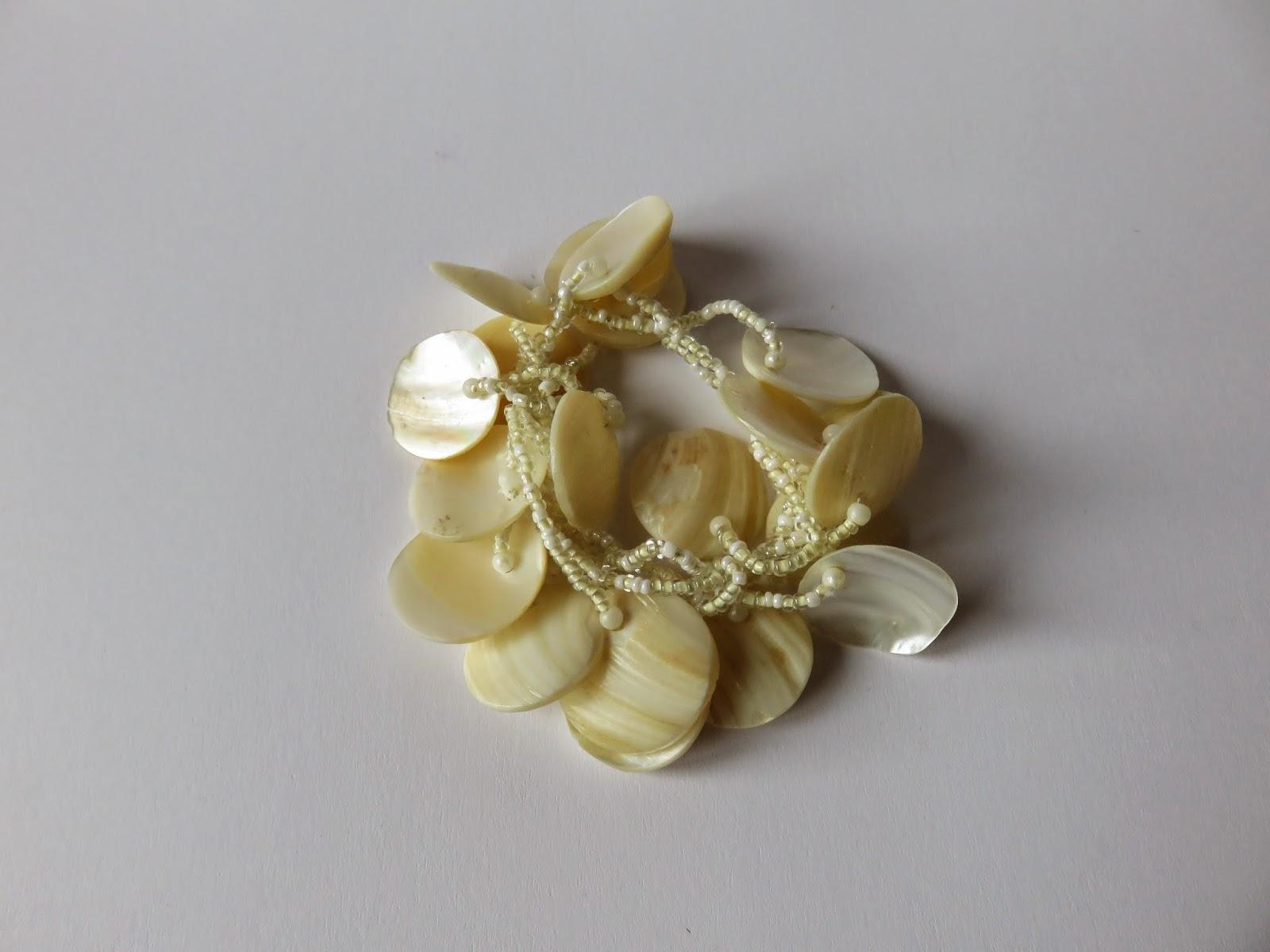 shell bracelet schelpen armband