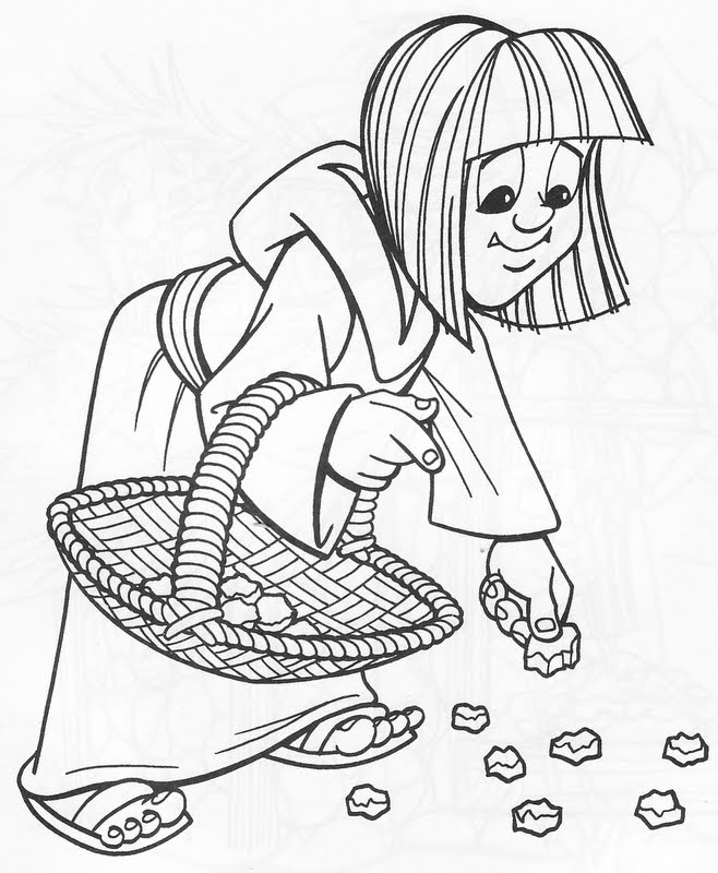 Mana coloring pages