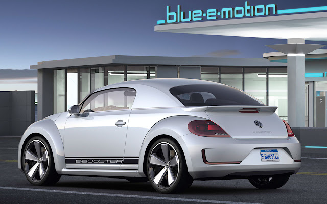Volkswagen E-Bugster Concept back