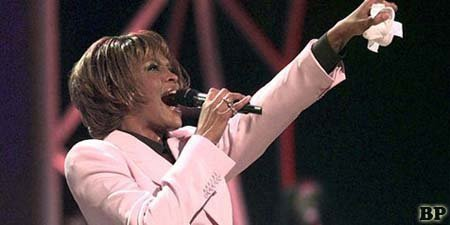Penyanyi Whitney Houston