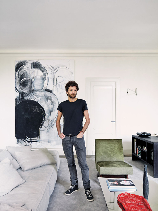 The warm minimalistic Paris apartment of French architect Joseph Dirand
