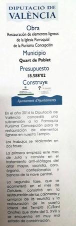 CONSERVACIÓ PATRIMONI