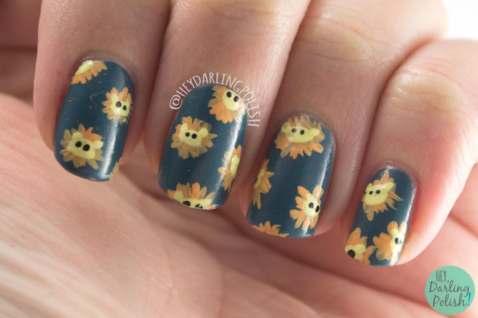 Hey, Darling Polish!: The Nail Challenge Collaborative: Animals - #3
