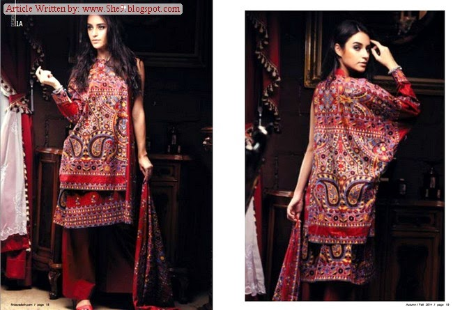 Firdous Formal Cambric Dress Collection