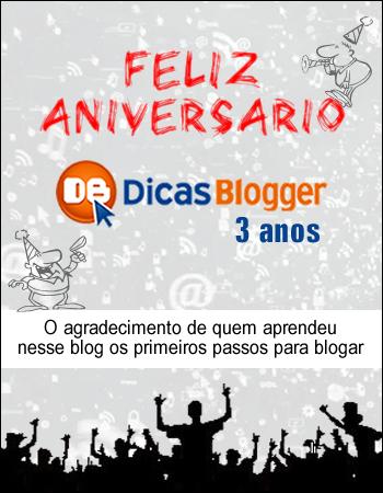 DicasBlogger 3anos