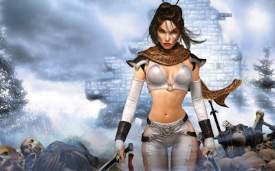 fantasy women warrior photo art