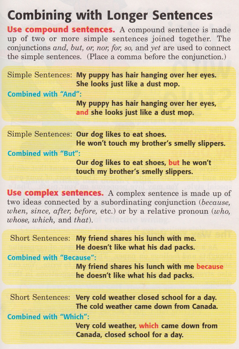Compound Complex Sentence Worksheet - Viewing Gallery