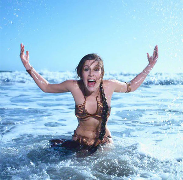 carrie fisher vintage star wars pics 03