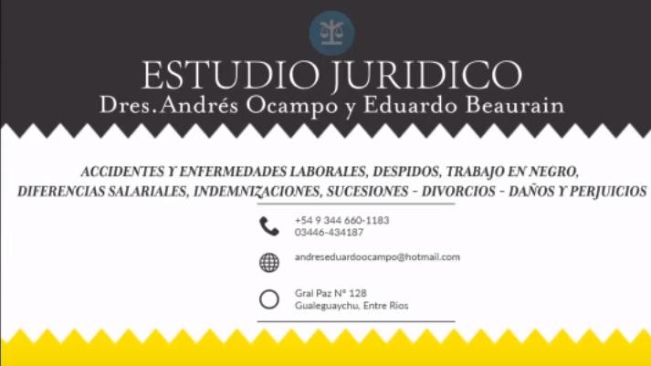 **** | Estudio Juridico | **** Dres Ocampo y Beaurain
