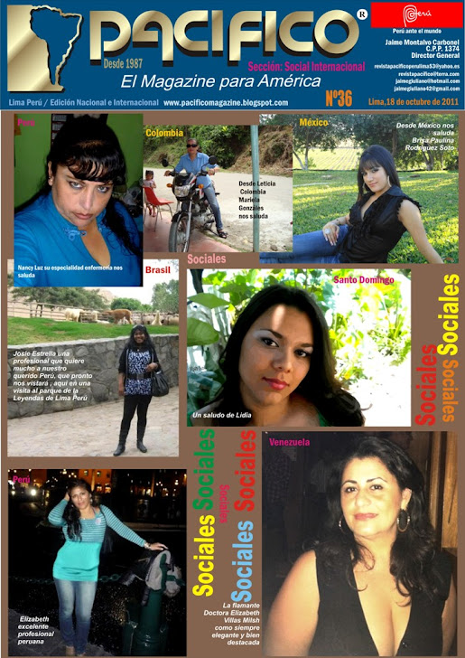 Revista Pacífico Nº 36 Social Internacional