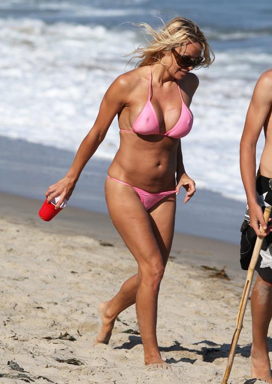 South Celebrities: Sexy Pamela Anderson In Hot Bikini!!!