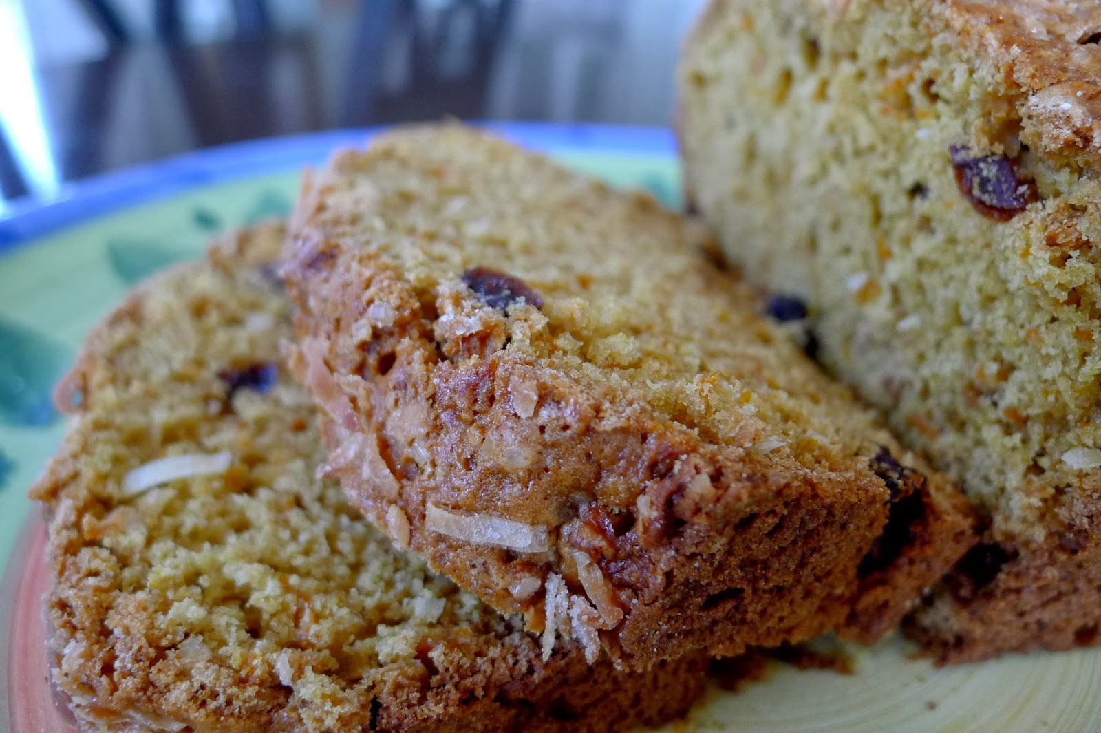 Carrot Coconut Bread Recipe