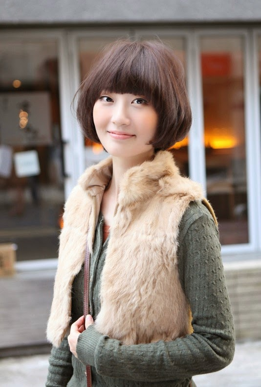 Short Bob Hairstyles Korean