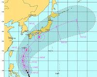 GUCHOL (BUTCHOY) bei den Philippinen ist der erste Supertaifun (Super Typhoon) der Taifunsaison 2012, Guchol, Butchoy, Taifun Typhoon, Taifunsaison 2012, aktuell, Juni, 2012, Japan, Vorhersage Forecast Prognose, Pazifik, Verlauf, Zugbahn,